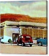 The Sugar Loaf Cafe In St. George Ut In The 40's Canvas Print