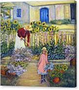 The Summer Garden Canvas Print