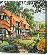 The Summer Thatchers Canvas Print