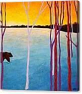 The Sundowner Canvas Print