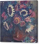 The Sunflower Bouquet Canvas Print