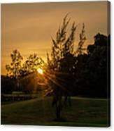 The Sunset In The Mountain IIi Canvas Print