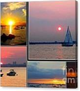 The Sunsets Of Long Island Canvas Print