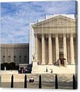 The Supreme Court Facade  Canvas Print