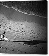 The Surfer's Steps Canvas Print