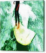 The Surfing Hobbit  Canvas Print