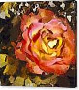 The Sweetest Rose 1 Canvas Print