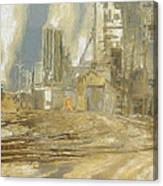 The Switch Yard Canvas Print
