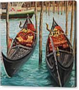 The Symbols Of Venice Canvas Print