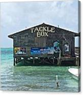 The Tackle Box Sign Canvas Print