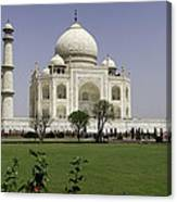 The Taj Mahal In Agra. Canvas Print