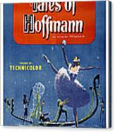 The Tales Of Hoffmann, Poster Art, 1951 Canvas Print
