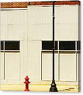 The Tall And Short Of It Canvas Print