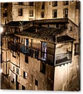 The Tall Houses Of Albarracin Canvas Print