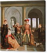 The Taming Of The Shrew Canvas Print