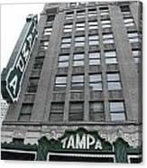 The Tampa Theatre Canvas Print