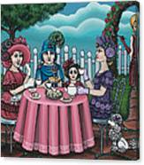 The Tea Party Canvas Print
