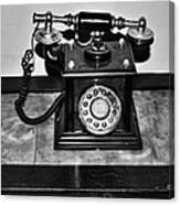 The Telephone Canvas Print