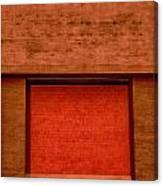 The Temple Door Canvas Print