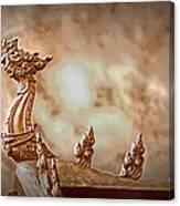The Temple Dragon Canvas Print