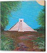 The Temple Of Kukulcan Canvas Print