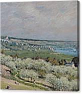 The Terrace At Saint Germain Canvas Print