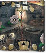 The Testimony Of Ron Wyatt - Ark Of The Covenant Canvas Print