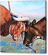 The Texas Twist Canvas Print