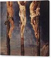 The Three Crosses Canvas Print