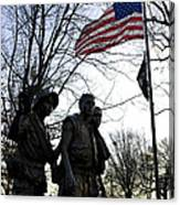 The Three Soldiers - Vietnam War Memorial Canvas Print