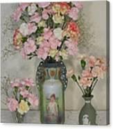 The Three Vases Canvas Print