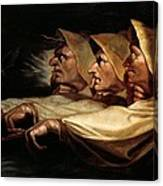 The Three Witches Canvas Print