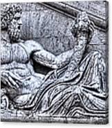 The Tiber Canvas Print