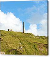 The Tin Mines Of Cornwall Canvas Print