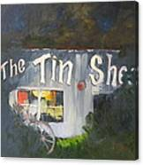 The Tin Shed Canvas Print