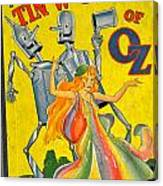 The Tin Woodsman Of Oz Canvas Print