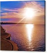 The Tip Of The Thumb Canvas Print