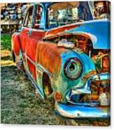 The Tired Chevy 2 Canvas Print