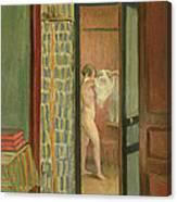The Toilet Canvas Print