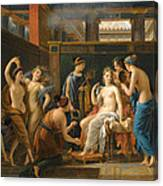 The Toilet Of Venus Canvas Print