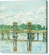The Toll Bridge New Hampshire Canvas Print