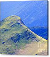 The Top Of Catbells In The Lake District Canvas Print