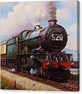 The Torbay Express. Canvas Print