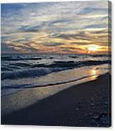 The Touch Of The Sea Canvas Print