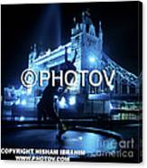 The Tower Bridge At Night  -  Limited Edition Canvas Print