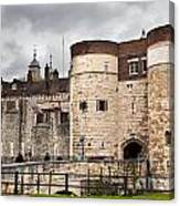 The Tower Of London Uk The Historic Royal Palace And Fortress Canvas Print