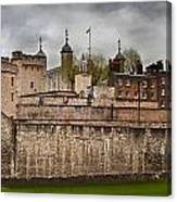 The Tower Of London Uk The Historic Royal Palace Canvas Print