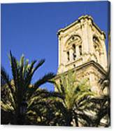 The Tower Of The Cathedral Of The Incarnation Canvas Print
