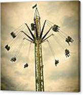 The Tower Swing Ride 2 Canvas Print