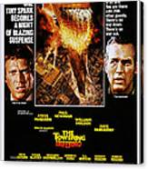 The Towering Inferno, Us Poster Art Canvas Print